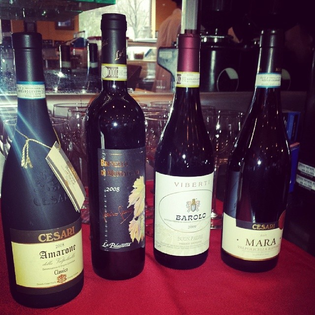 Va Bene Instagram Photo: Half off bottles of vino tonight. #vabeneduluth