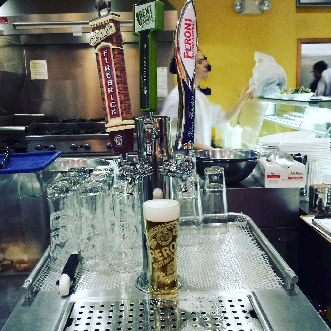 Va Bene Instagram Photo: The Peroni glasses are here:) #vabeneduluth