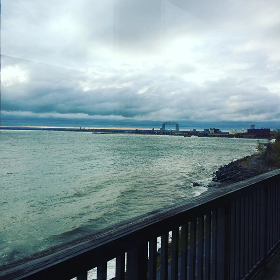 Va Bene Instagram Photo: @mkyang002Our beautiful view while eating brunch at the #vabenecaffe #duluth #anniversary