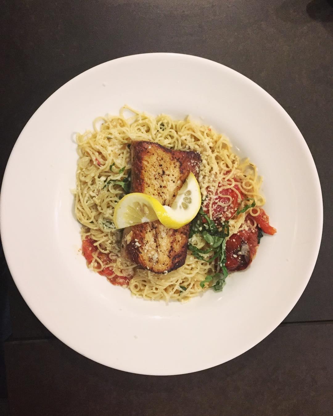 Va Bene Instagram Photo: @duluthloveslocal Mahi mahi pasta @vabenecaffe  #duluth #eatlocal #vabeneduluth #italian #pasta #mahimahi #capturemn #exploremn #onlyinmn #shoplocal #duluthloveslocal
