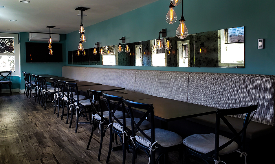 Reserve the Private Dining Room in Duluth at Va Bene Caffe's Soffitta