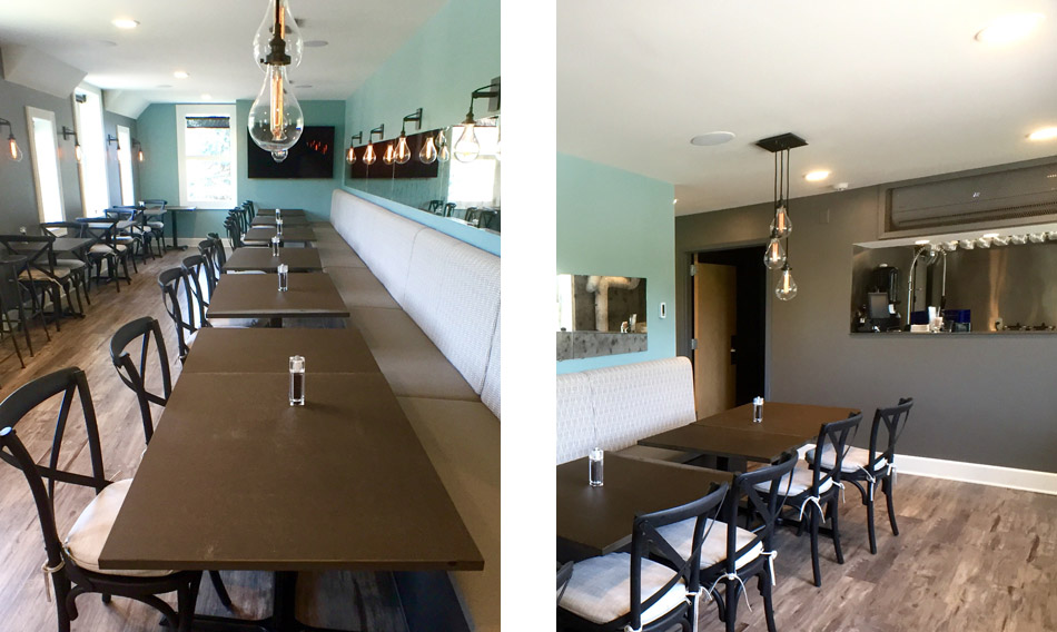 Va Bene's Catering in the Upstairs Soffitta Private Dining Space