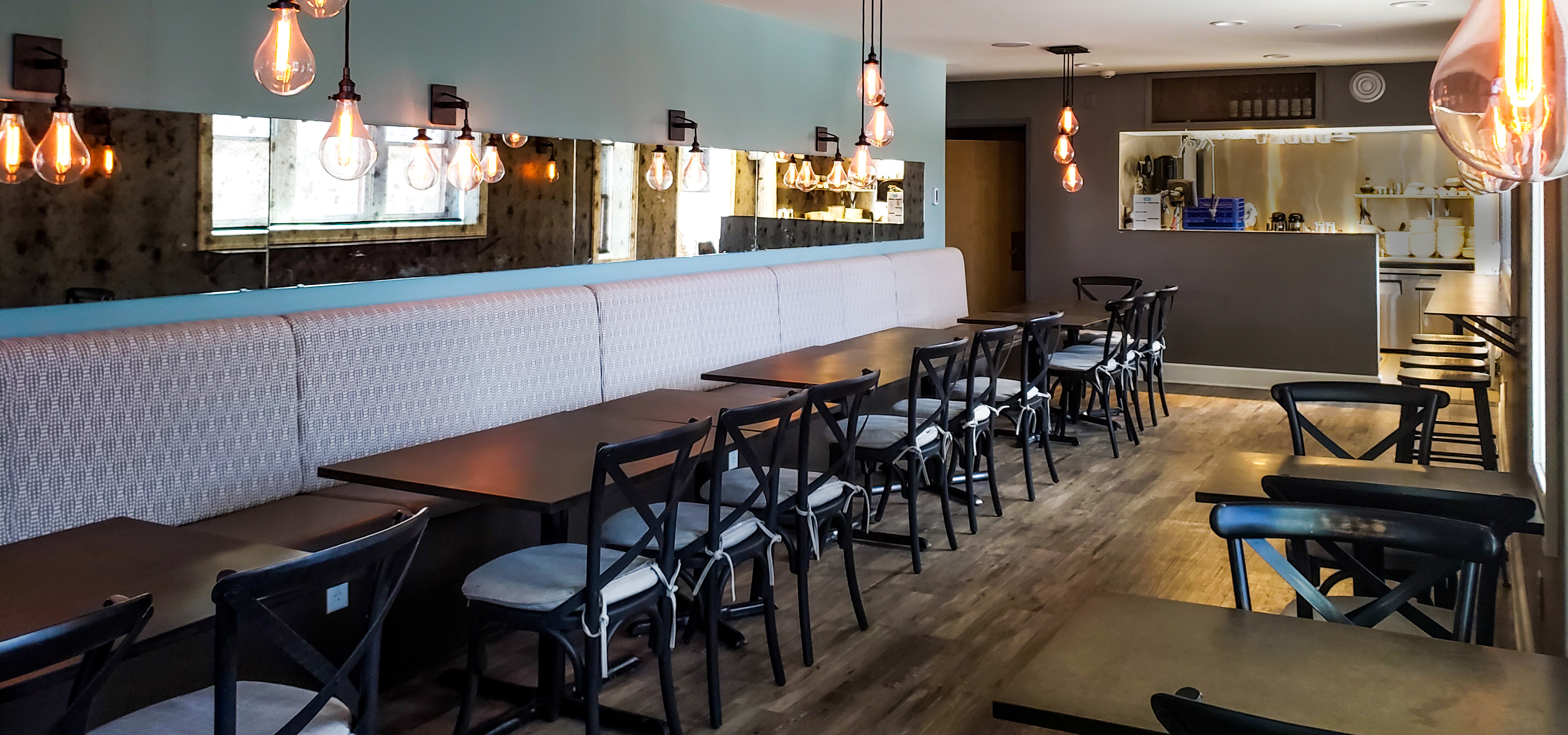 Private dining venue at Va Bene in Duluth